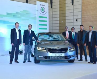 Skoda Superb Launch