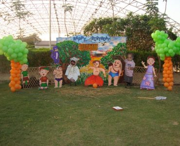 Chhota Bheem Theme Birthday Party