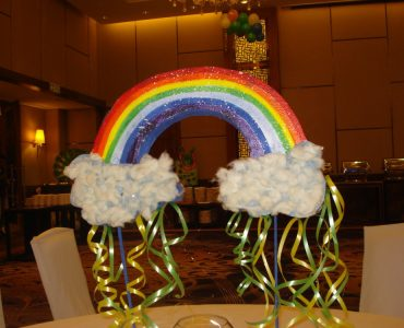 Monsoon Theme Birthday Party