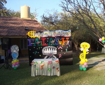 Music Theme Birthday Party