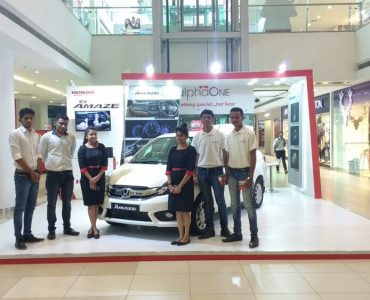 Honda Amaze Activation Ahmedabad One Mall