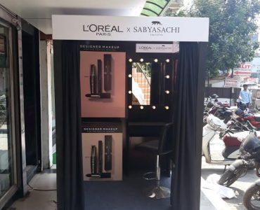 Loreal Festival Instore activation Gujarat
