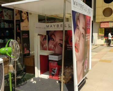 Maybelline Festival Instore activation Gujarat