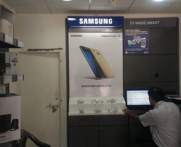 Samsung RDX In store Installation Gujarat